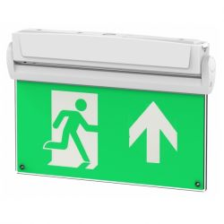 Channel Safety E/5IN1 Emergency Exit Sign 5 In 1 Light Fitting With Full Legend Set