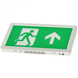 Channel Safety E/AL/M3/SL/RC Alpine Slim LED Exit Sign c/w Legend Kit