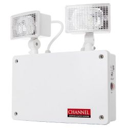 Channel Grove IP65 Twinspot LED Emergency Light Fitting - Self-Test Version