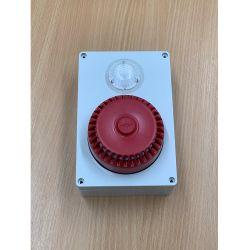 EDA-A6072 Zerio Plus Wireless Weatherproof Wall Sounder Beacon