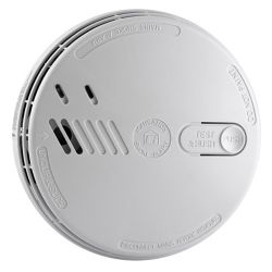 Aico Smoke Detector Ei141RC - Mains Ionisation Domestic Detector with Battery