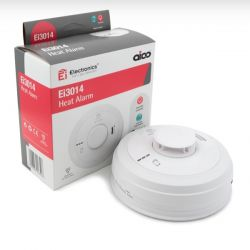 Aico Ei3014 Mains Interlinked Heat Detector With 10 Year Lithium Battery Backup