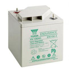 Yuasa EN100-4 Endurance Lead Acid Battery - 100Ah 4V