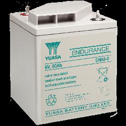 Yuasa EN80-6 Endurance Lead Acid Battery - 80Ah 6V