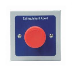 Haes ESG-2007 Esprit Remote Extinguishant Abort Button - Metal Enclosure