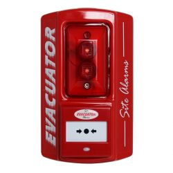Evacuator Sitemaster Temporary Fire Alarm - Call Point Version - FMCEVASMBG