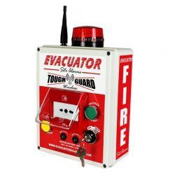 Evacuator Tough Guard Temporary Fire Alarm System Break Glass Version - FMCEVATGWBG