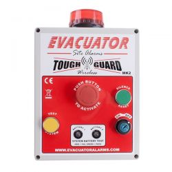 Evacuator Tough Guard Wireless Temporary Fire Alarm - Push Button Version - FMCEVATGWPB
