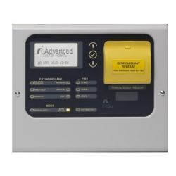Advanced EX-3030 Remote Status Indicator Panel with LCD, LED and Manual Release Button
