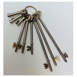 Fire Brigade Key Set - Pack of 9
