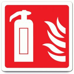 Fire Extinguisher Location Label - Self-Adhesive - FELL-SA-01