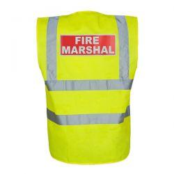 Fire Marshall Vest - Hi-Visibility