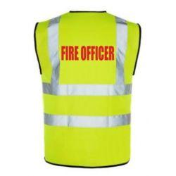 Fire Officer Vest - Hi-Visibility
