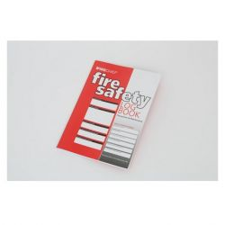 Firechief FLB1 Fire Safety Log Book - A4 Size