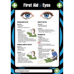 First Aid Eyes Sign / Poster - 55902