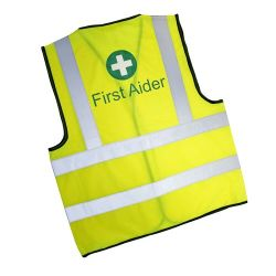First Aider Vest - Hi-Visibility