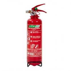 Firechief 1 Litre Lith-Ex Fire Extinguisher - FLE1
