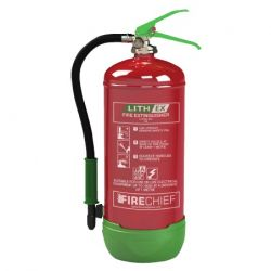 Firechief 6 Litre Lith-Ex Fire Extinguisher - FLE6