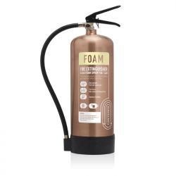 Commander Contempo 6Ltr Foam Fire Extinguisher - Antique Copper - FSEX6AC