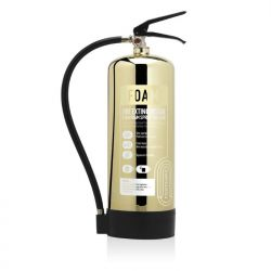 Commander Contempo 6Ltr Foam Fire Extinguisher - Polished Gold - FSEX6PG
