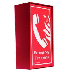 Cameo Systems FTO/RS/R Type A Fire Telephone Outstation - Surface Mounted - Red