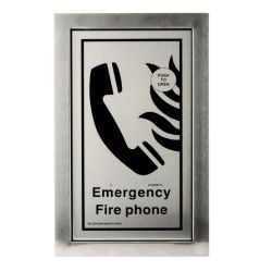 Cameo Systems FTO/RF/R Type A Fire Telephone Outstation - Flush Mounted - Red