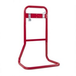 Firechief Double Red Tubular Metal Fire Extinguisher Stand - FTSR2