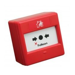 Fulleon CXM230/CO/GP/R/BB Mains Rated Call Point - Red