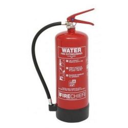 Firechief FXW6 6 Litre Water Fire Extinguisher - 100-1198 (Supply With 80 x 200mm ID Sign)