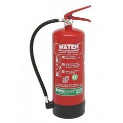 Firechief ESW6 6 Litre Eco Spray Water Fire Extinguisher - 100-1032 (Supply With 80 x 200mm ID Sign)
