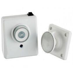 Geofire 3-87-0371 Door Holder - 230V AC Door Magnet With Keeper Plate