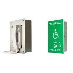 Cameo Systems ORB/R/RS1/FL Disabled Refuge System - Flush Mount 2 Line Package System - Includes 1 Outstation