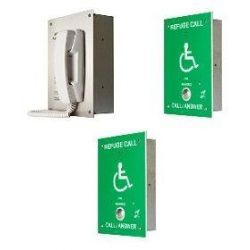 Cameo Systems ORB/R/RS2/FL Disabled Refuge System - Flush Mount 2 Line Package System - Includes 2 Outstations