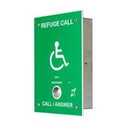 Cameo Systems RCO/GB Disabled Refuge Outstation - Type B - Green (Supply With FR/BB Flush Mounted Backbox)