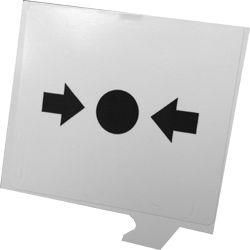 Gent Resettable Call Point Element - Single Unit