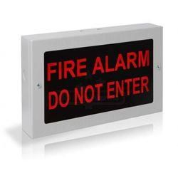 Kentec Fire Alarm Do Not Enter Illuminated Warning Sign - K27102