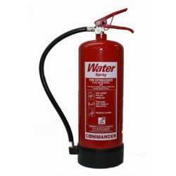 Water Fire Extinguisher 6 Litre - Commander WS EX6