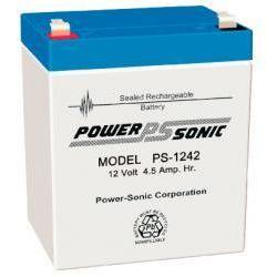 Powersonic PS1242 4.5Ah 12V Sealed Lead Acid Battery (SLA)