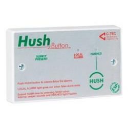 Hush Button C-Tec for Hochiki ESP Protocol Analogue Addressable Loop - XFP508H - BS5839-6 Compliant
