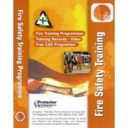 Fire Safety Training Programme From Protector CD-ROM - P001