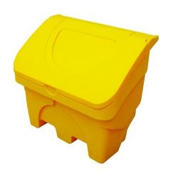 Firechief GSGB130 Rotationally Moulded Plastic 130 Litre Grit Bin - Yellow
