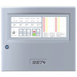GST Conventional Fire Alarm Control Panel GST104A - 4 Zone