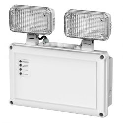 Channel GU32-IP65 Twin Flood LED Emergency Light Fitting - IP65 Rated