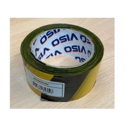 Yellow & Black Non Adhesive Hazard Warning Barrier Tape - 50mm x 100m - RSNA01NJ