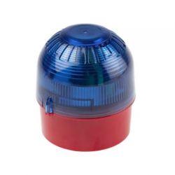 Moflash IS-B-02-03 Intrinsically Safe Beacon - Blue Lens