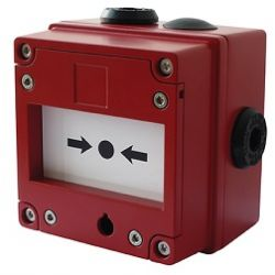 E2S IS-CP4B-BG-ST-NF-NL-RD-24V-E4K7R-S680R Intrinsically Safe Break Glass Call Point (308-117)