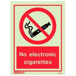Jalite 8041D No Electronic Cigarettes Sign