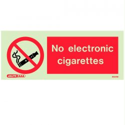 Jalite 8041M No Electronic Cigarettes Sign