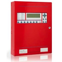 Kentec K0850-10 Elite RS 1 Loop Analogue Addressable Fire Alarm Control Panel - Apollo Protocol - Red
