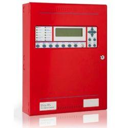 Kentec K0810-10 Elite RS 1 Loop Analogue Addressable Fire Alarm Control Panel - Hochiki Protocol - Red